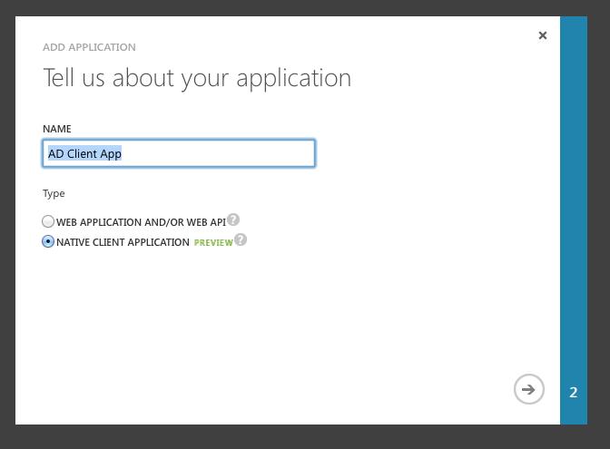Microsoft Azure REST API + OAuth 2 0