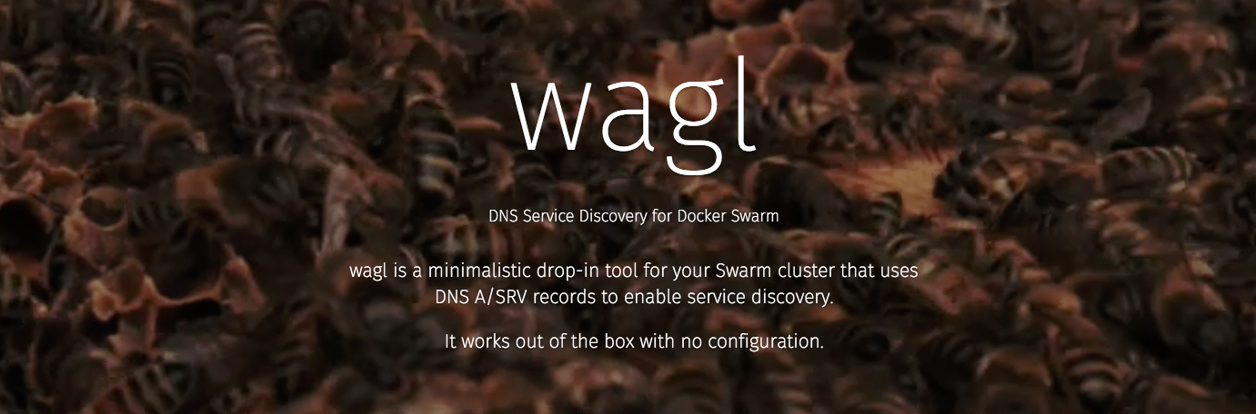 wagl: Service Discovery for DockerSwarm