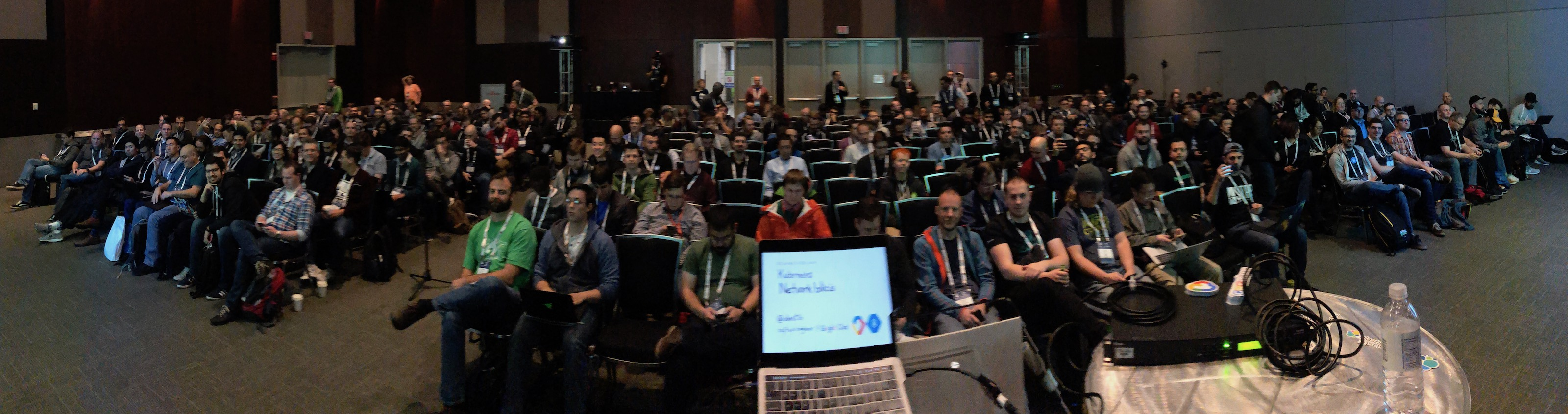 The audience for my talk